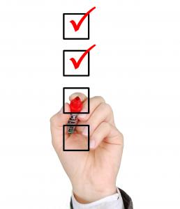 Checkliste für ein sicheres Passwort
